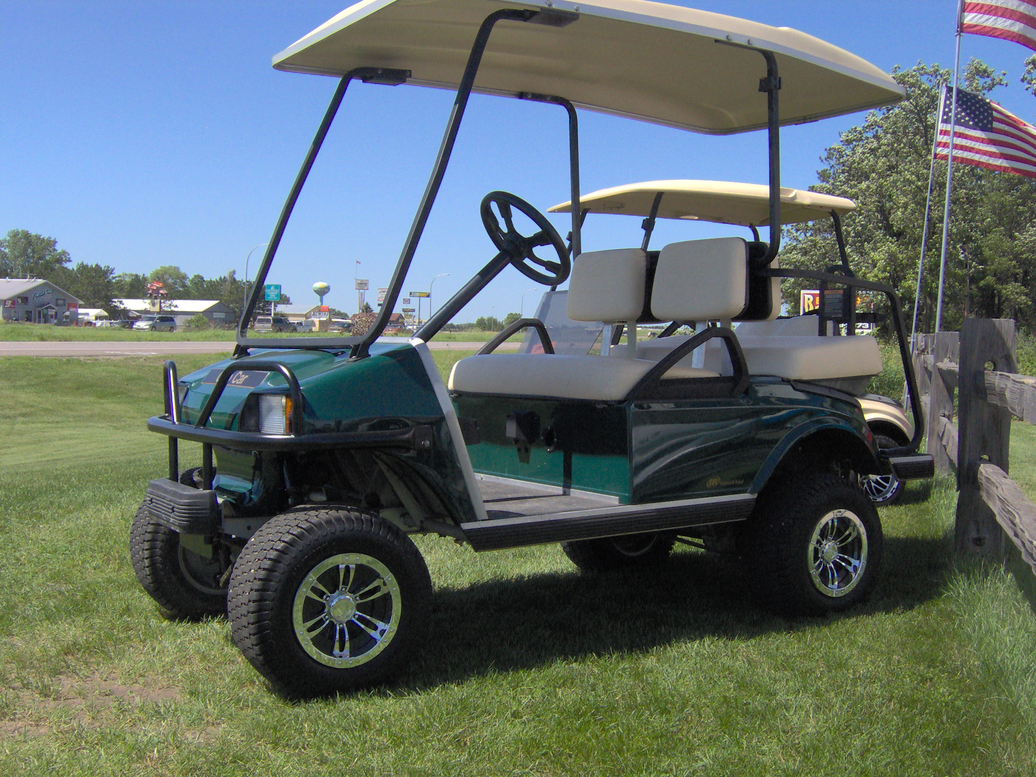 Golf Carts Minneapolis Mn Premier Enclosed Trailers For